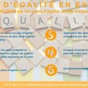 Infor: Plans d'égalité et enregistrement